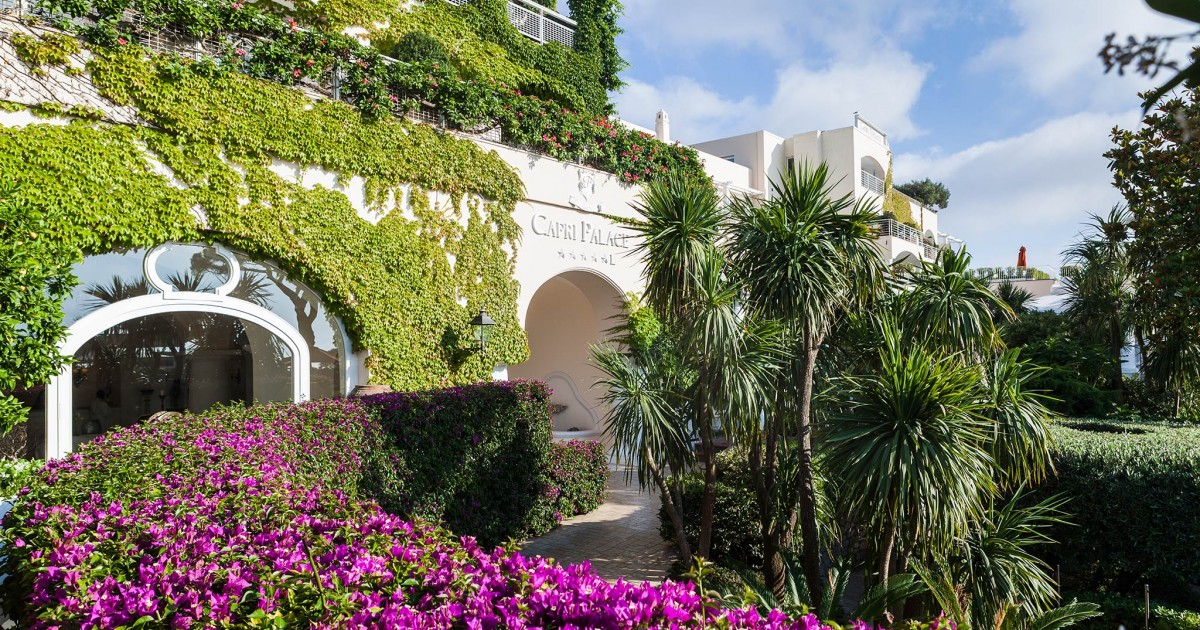 Capri Palace, Luxury 5 Star Hotel In Capri, Italy